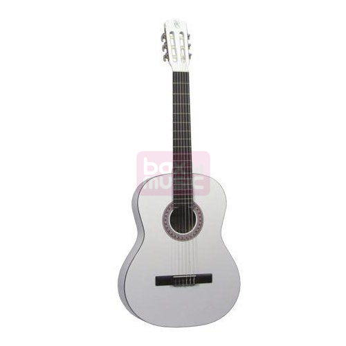 Gomez 036 3/4-model klassieke gitaar wit