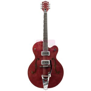 Gretsch G6120SH Brian Setzer Hot Rod Roman Red 2-Tone Flame