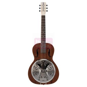Gretsch G9200 Boxcar Round-Neck Resonator gitaar naturel