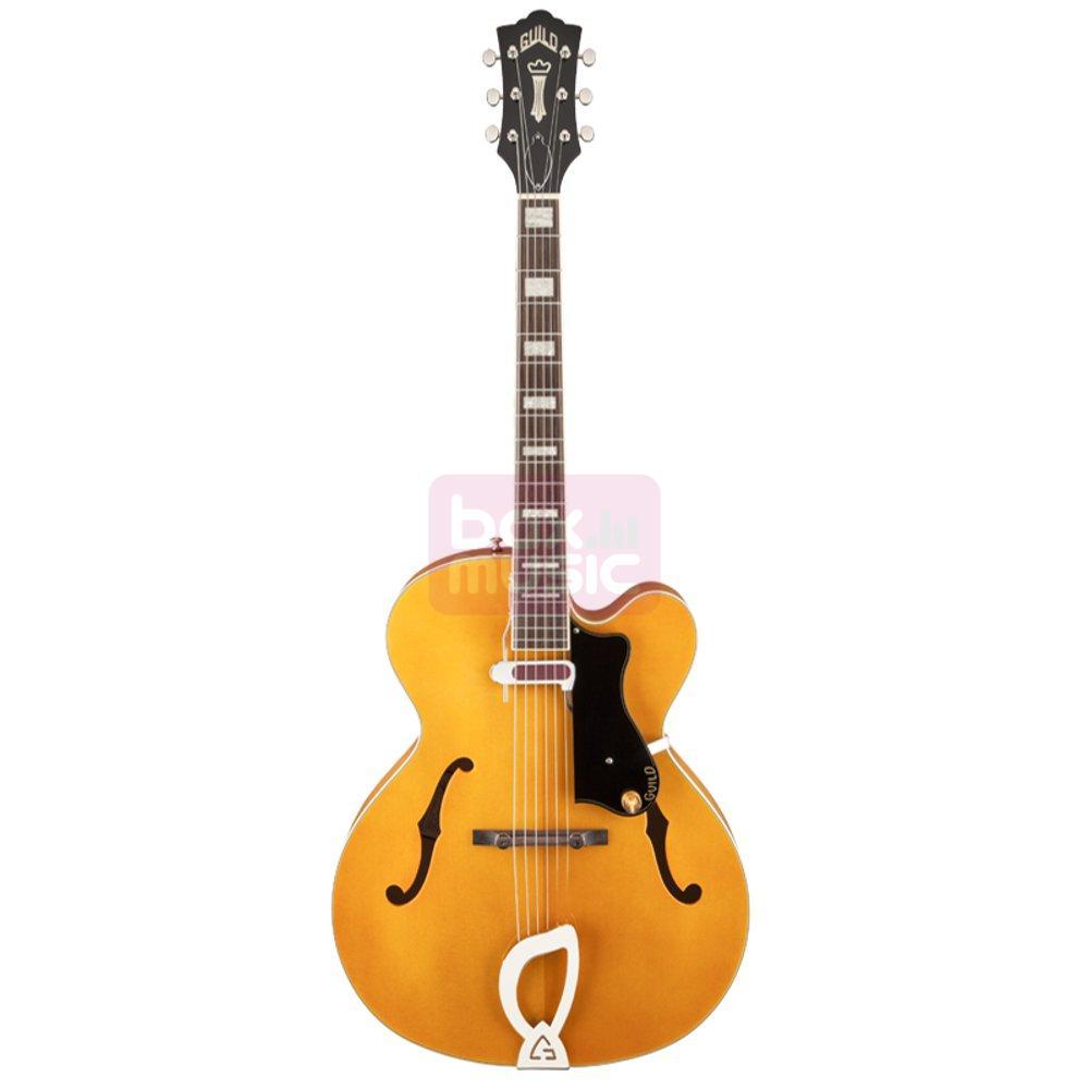 Guild A-150 Savoy Blonde hollowbody gitaar