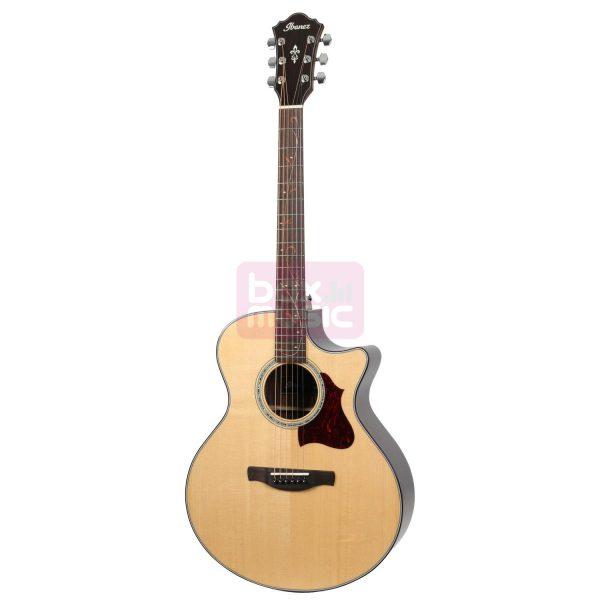 Ibanez AE305 Natural High Gloss elektrisch-akoestische gitaar
