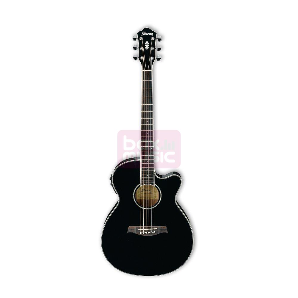 Ibanez AEG10II-BK elektrische akoestische gitaar zwart