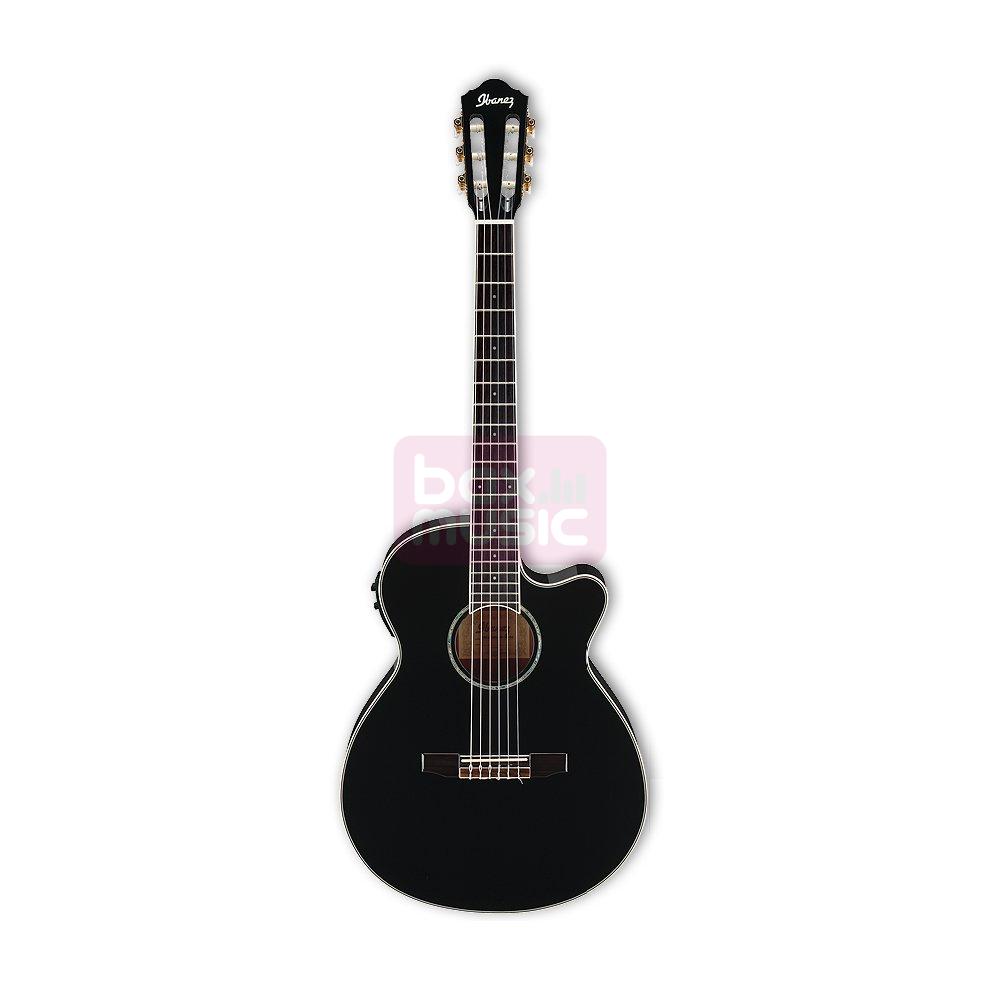 Ibanez AEG10NII-BK elektr. akoest. klassieke gitaar zwart