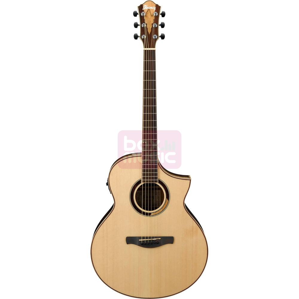 Ibanez AEW51 Natural High Gloss elektrisch akoestische gitaar