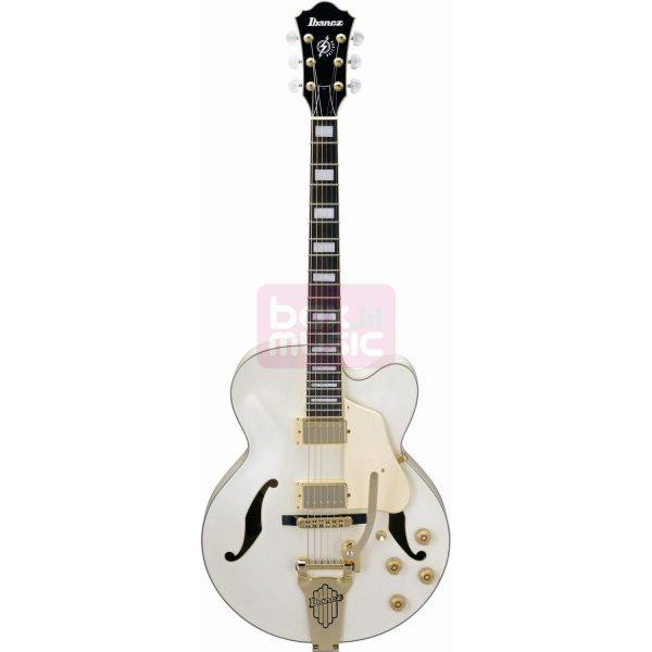 Ibanez AF75TDG-IV Ivory semi-akoestische gitaar