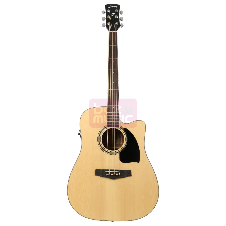 Ibanez PF15ECE-NT Natural elektrisch-akoestische western gitaar