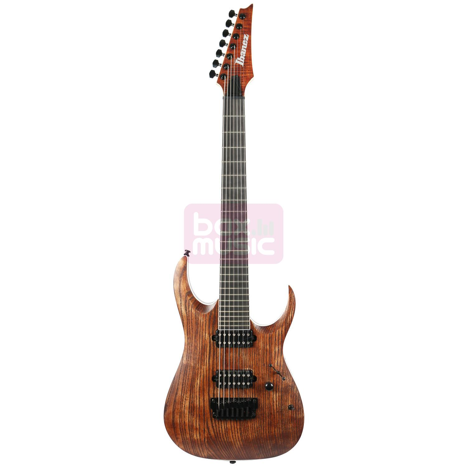 Ibanez RGAIX7U Iron Label Antique Brown Stained