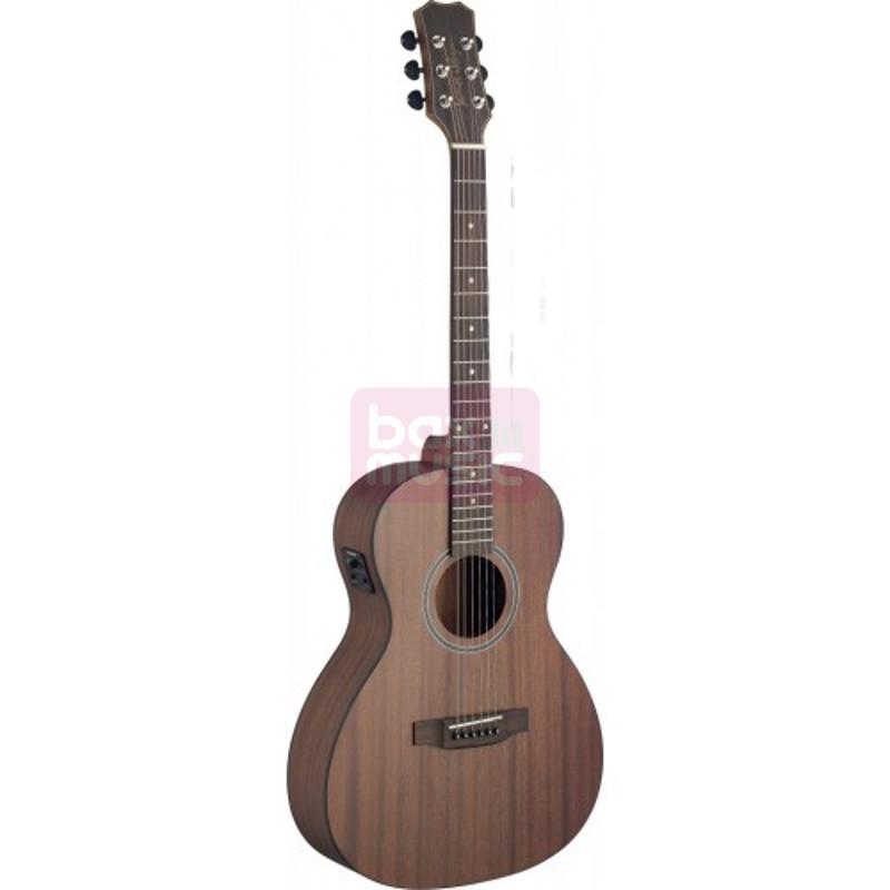 J.N Guitars DEV-PFI E/A parlor westerngitaar