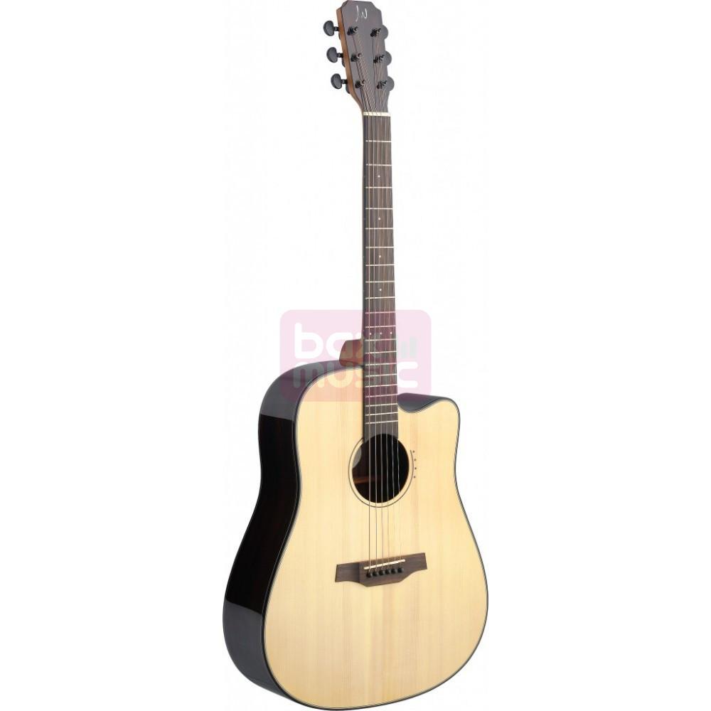 J.N Guitars Lyn-DFCI elektrisch akoestische western gitaar