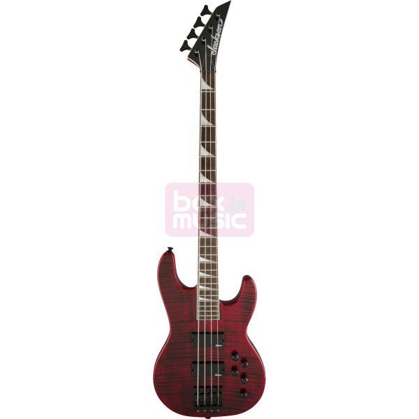 Jackson CBXNT Concert Bass IV Trans Red
