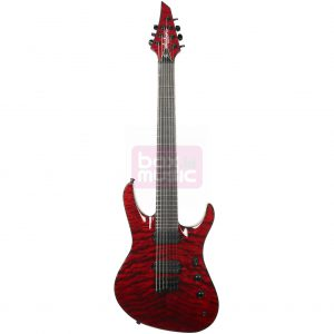 Jackson Chris Broderick Soloist HT7 Trans Red EB