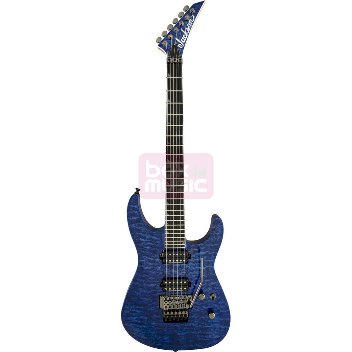 Jackson Pro Soloist SL2Q Trans Blue