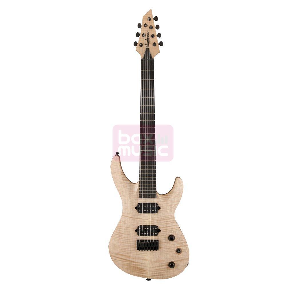 Jackson USA Select B7 Deluxe Au Natural 7-snarige gitaar