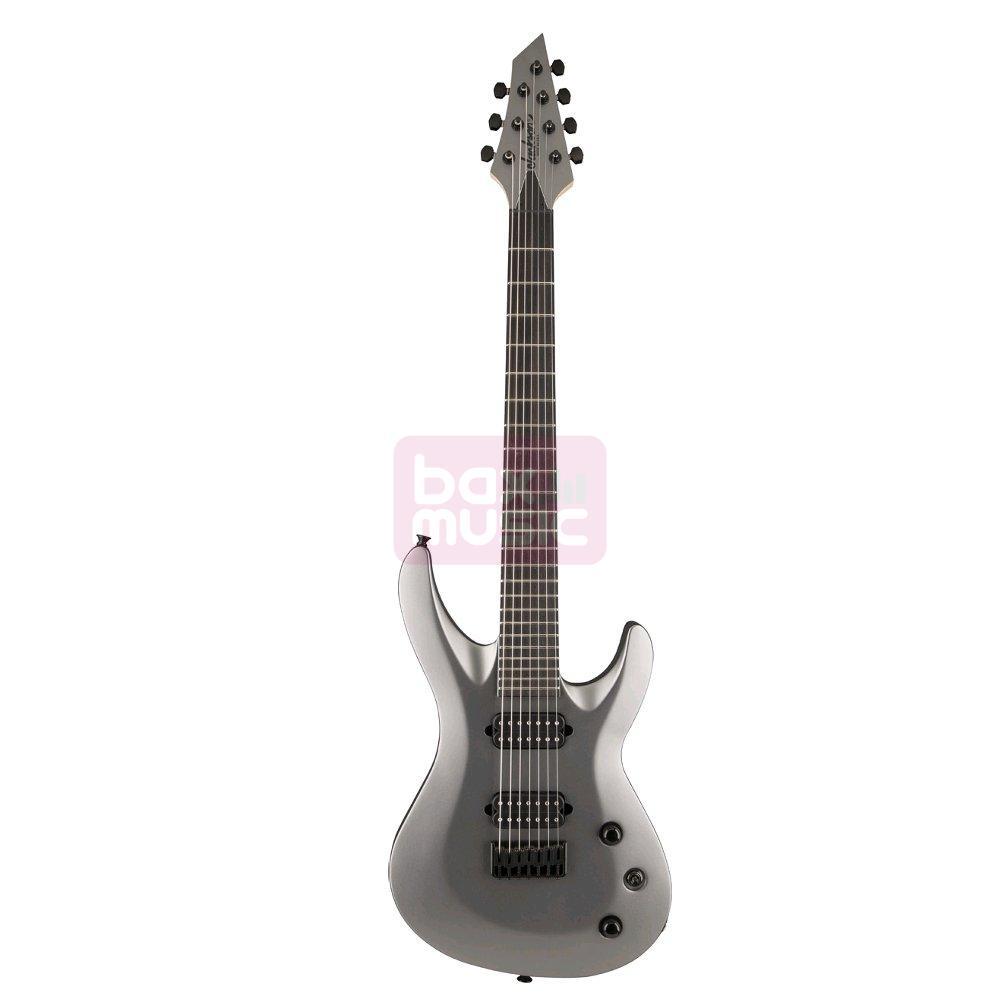 Jackson USA Select B7 Deluxe Satin Gray 7-snarige gitaar