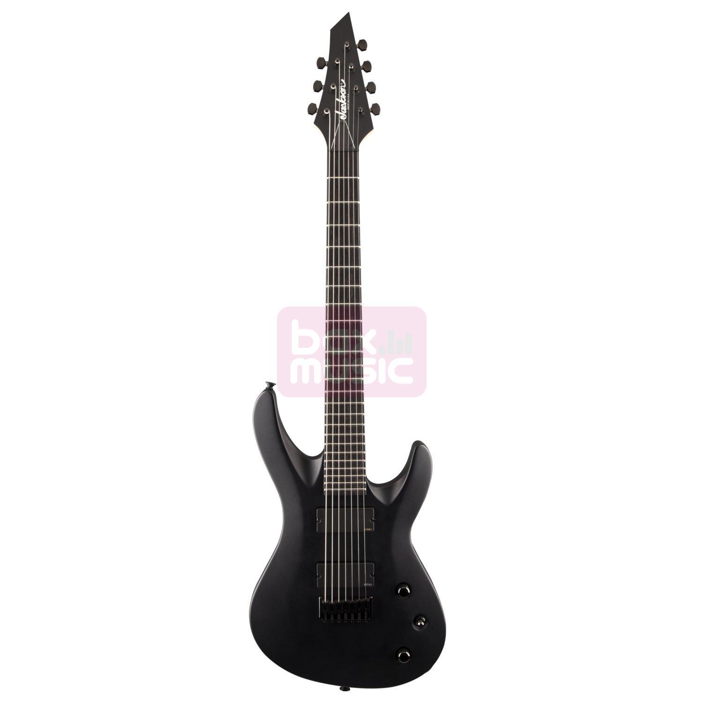 Jackson USA Select B7 Satin Black elektrische gitaar