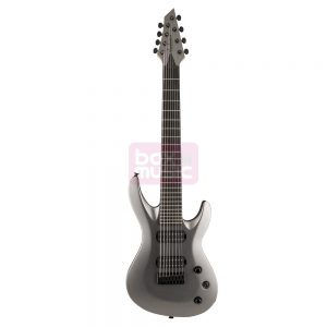 Jackson USA Select B8 Satin Gray elektrische gitaar