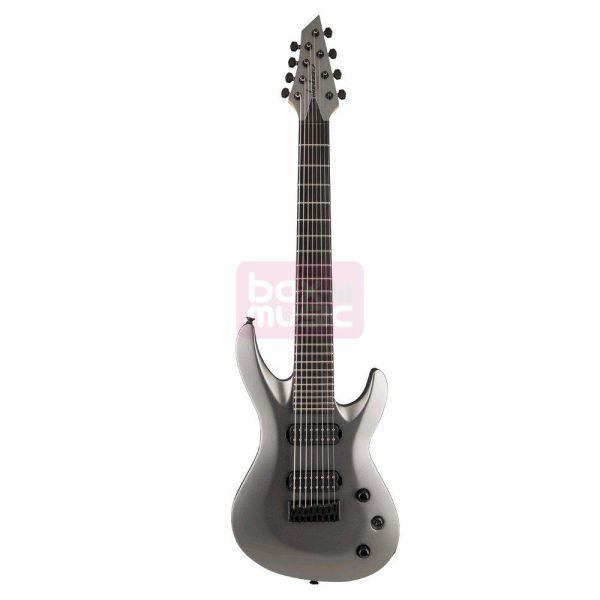 Jackson USA Select B8 Satin Gray elektrische gitaar