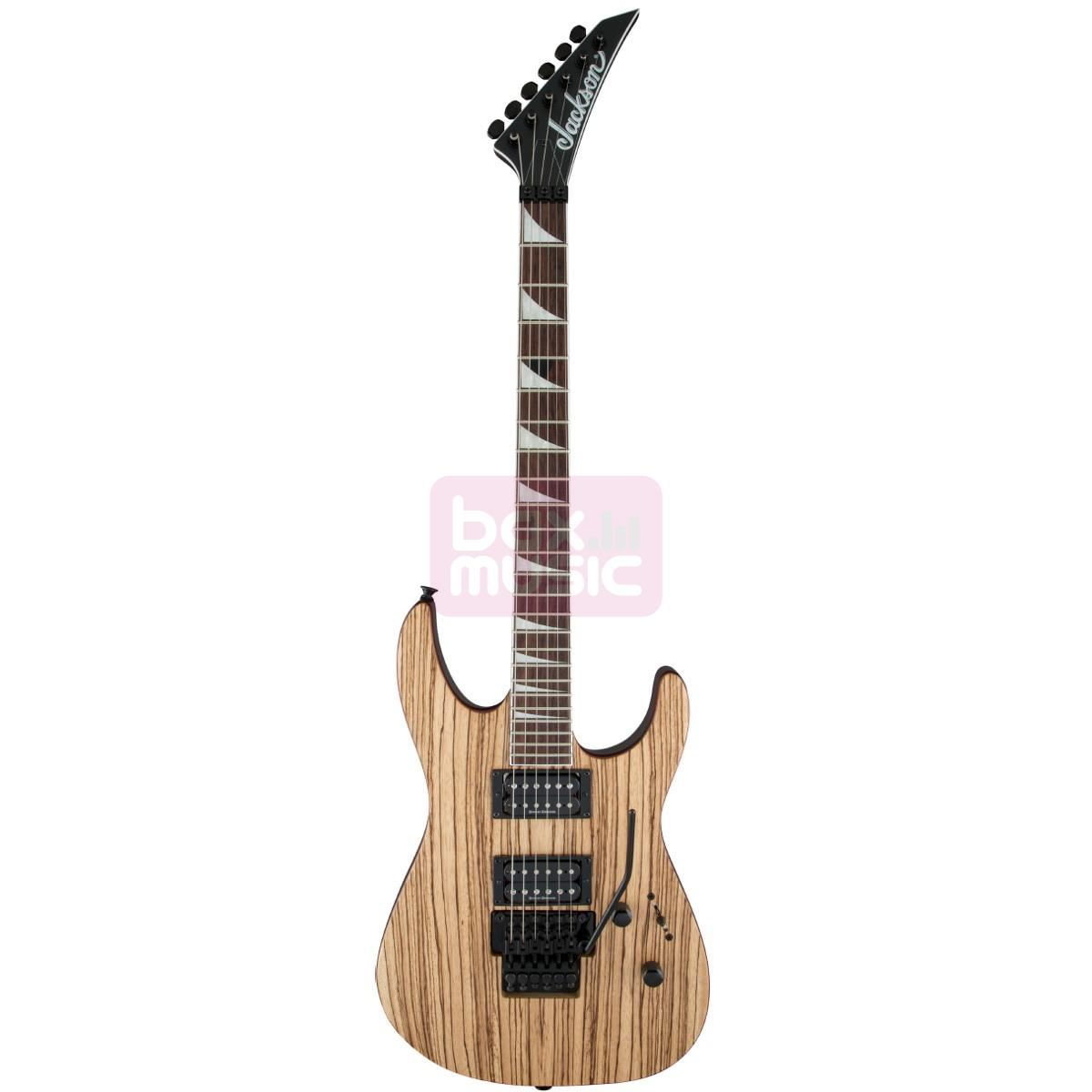 Jackson X Series Soloist SLX Zebra Wood