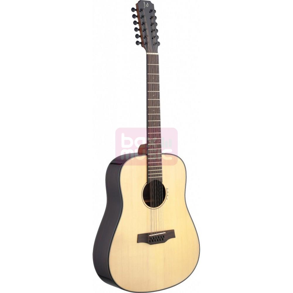 James Neligan Lyn-D12 12-snarige western gitaar