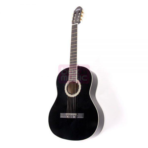 LaPaz 001 BK klassieke gitaar Black