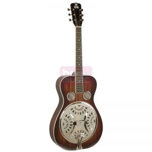 Recording King RR-61-BR Squareneck Resonator Satin Brown
