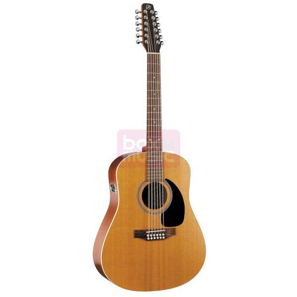 Seagull Coastline S12 Cedar QI 12-snarige el.akoestische gitaar