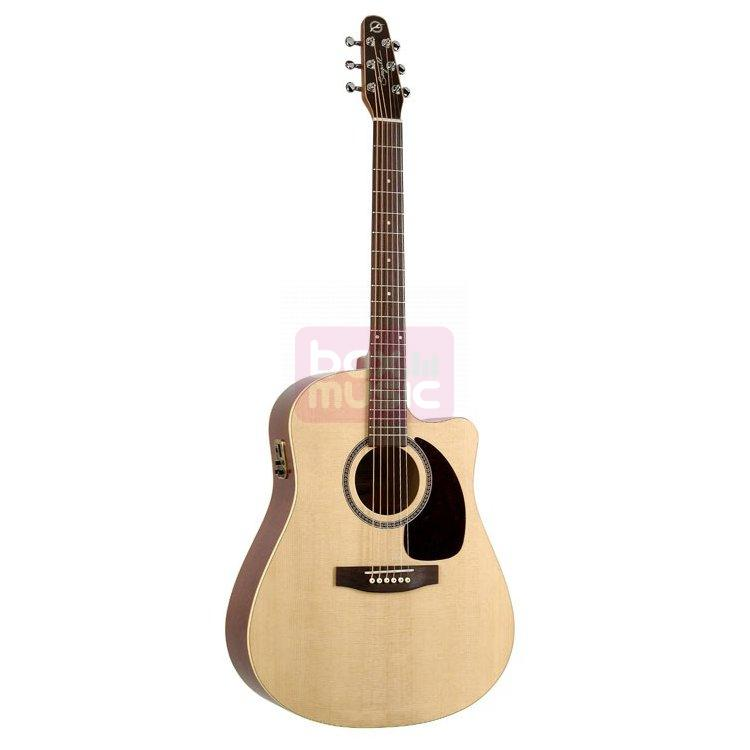 Seagull Coastline S6 Slim CW Spruce QI el.akoestische gitaar