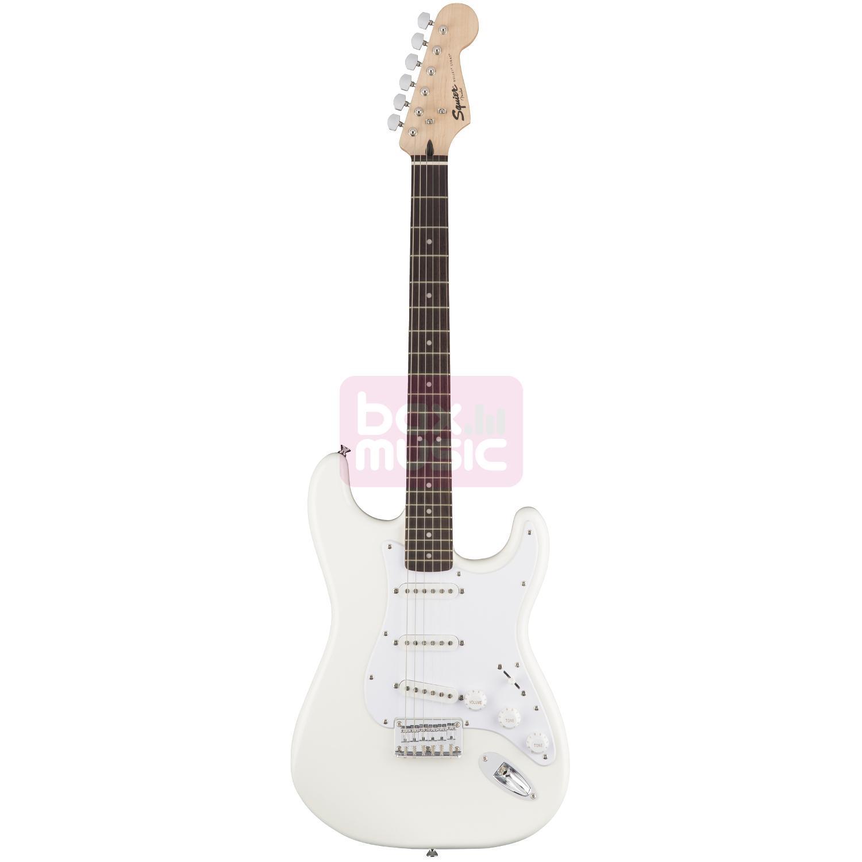 Squier Bullet Strat HT Arctic White RW elektrische gitaar