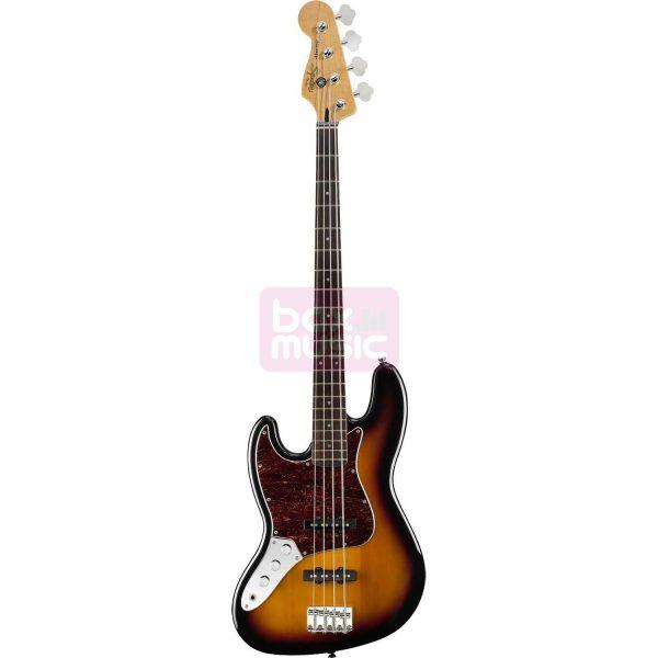 Squier Vintage Modified Jazz Bass 3-Color Sunburst linkshandig