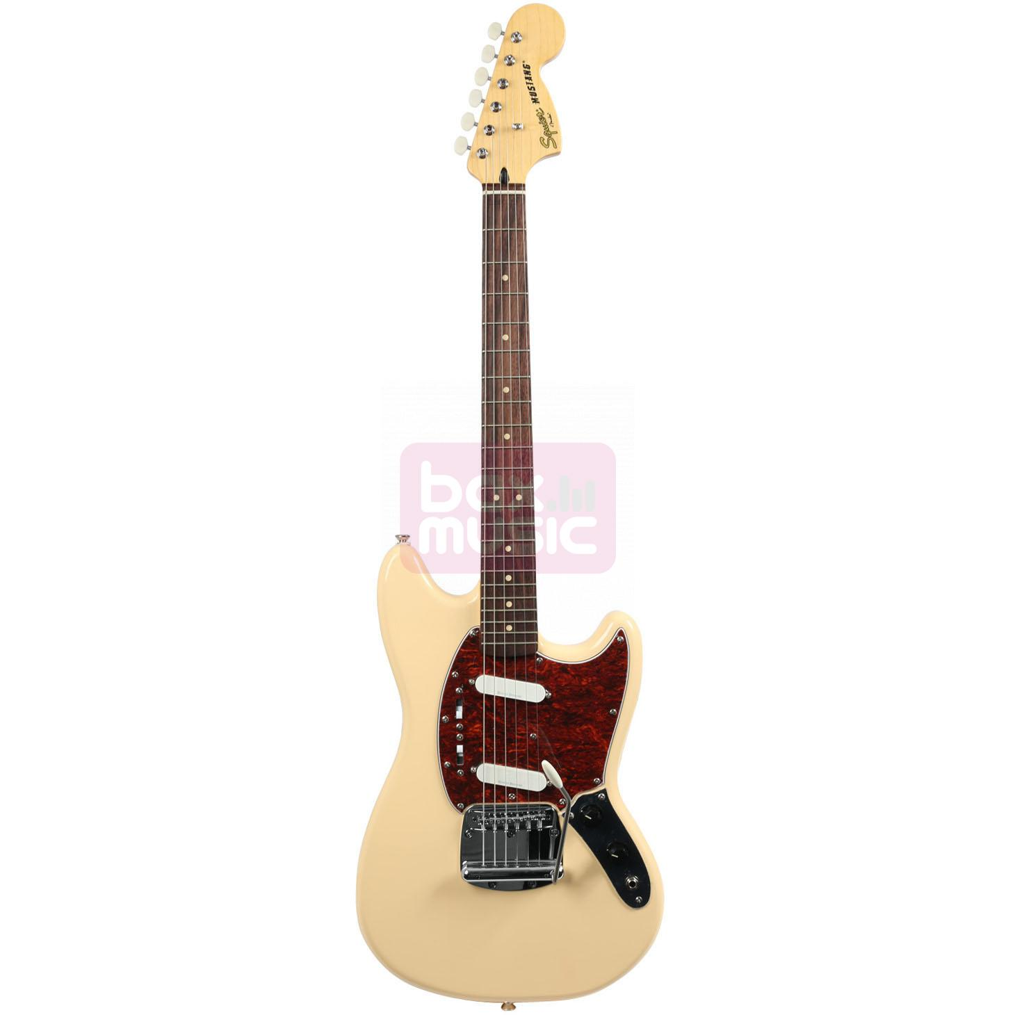 Squier Vintage Modified Mustang Vintage White RW
