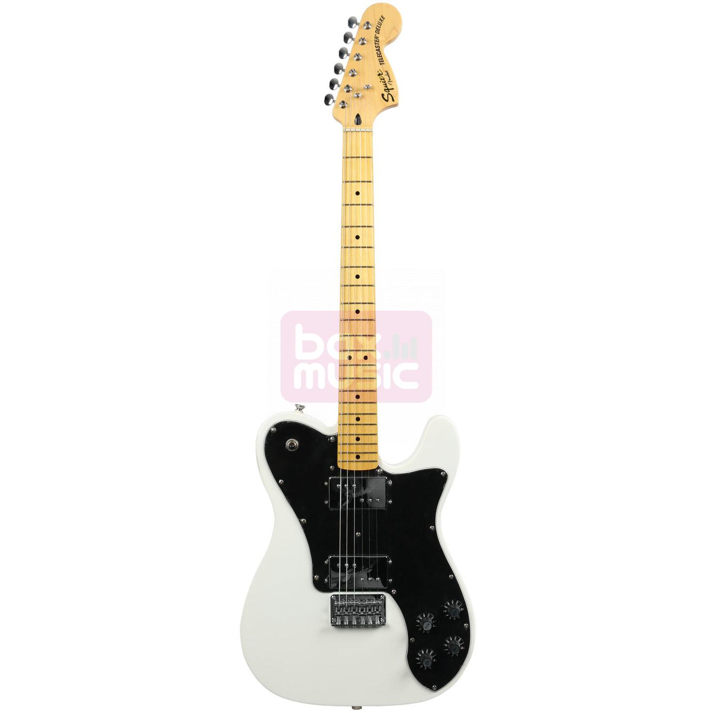 Squier Vintage Modified Telecaster Deluxe Olympic White MN