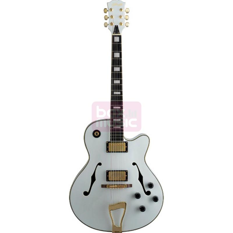 Stagg A300-WH semi-akoestische gitaar