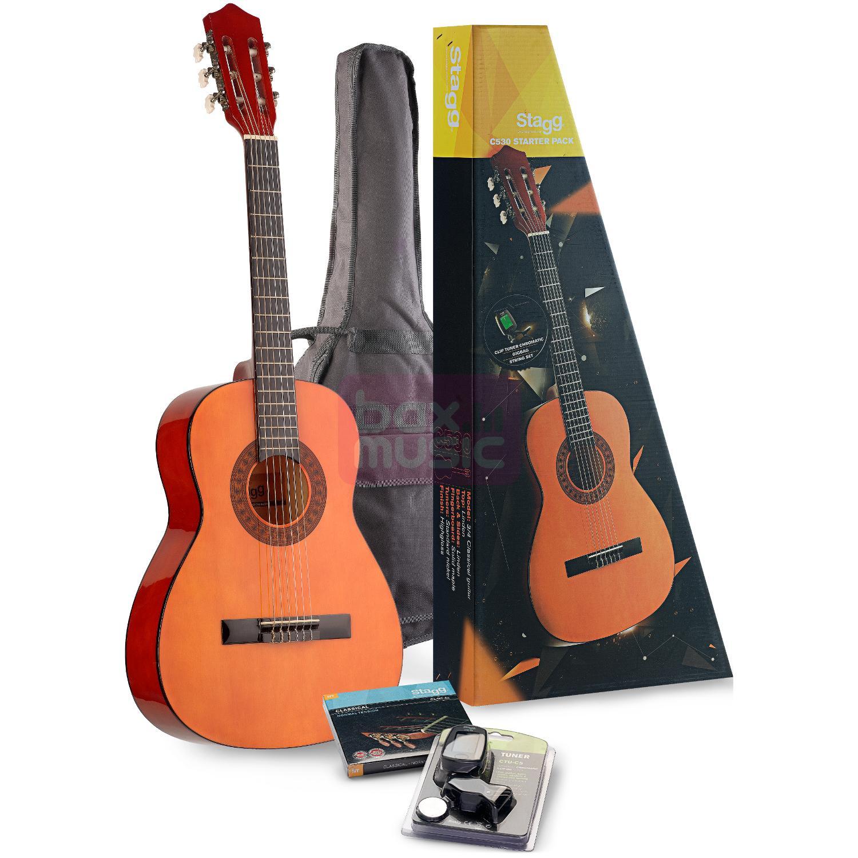 Stagg C530 Natural 3/4 Pack klassieke gitaarset