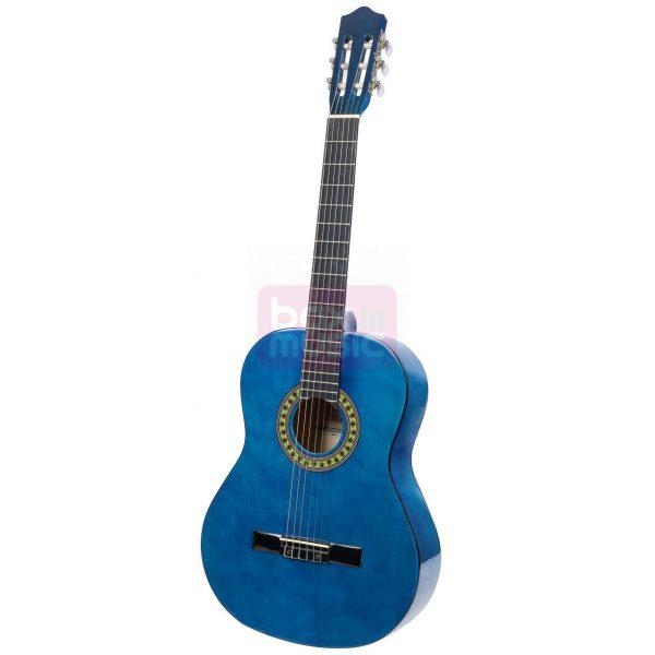 Stagg C542 TB klassieke gitaar blauw