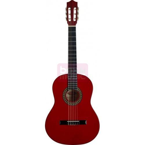 Stagg C542 TR klassieke gitaar rood