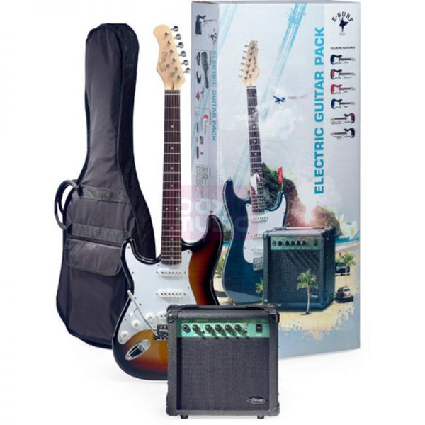 Stagg ESURF250LHSBEU LH Surfpack gitaarset