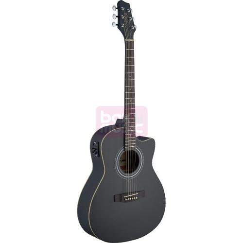 Stagg SA30ACE-BK elektrisch akoestische western gitaar