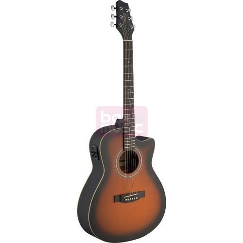 Stagg SA30ACE-BS elektrisch akoestische western gitaar