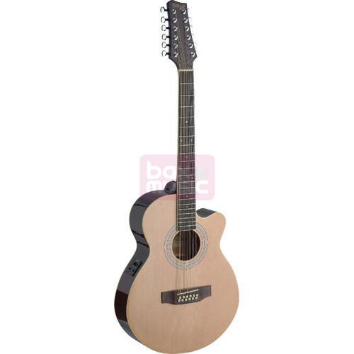 Stagg SA40MJCFI/12-N elektrisch akoestische gitaar