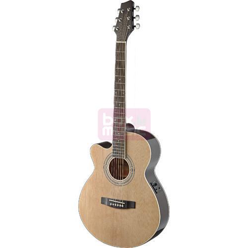 Stagg SA40MJCFI-LH N elektrisch akoestische gitaar