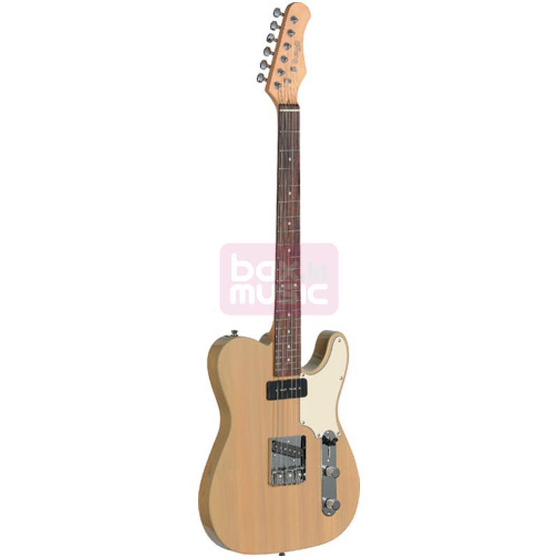 Stagg SET-CST YW Vintage T Series Custom elektrische gitaar