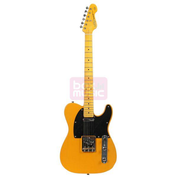 Vintage V52BS Butterscotch elektrische gitaar