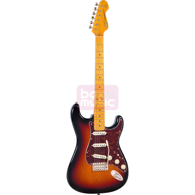 Vintage VM6SSB Sunset Sunburst elektrische gitaar