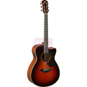 Yamaha AC3M ARE Tobacco Brown Sunburst met gigbag