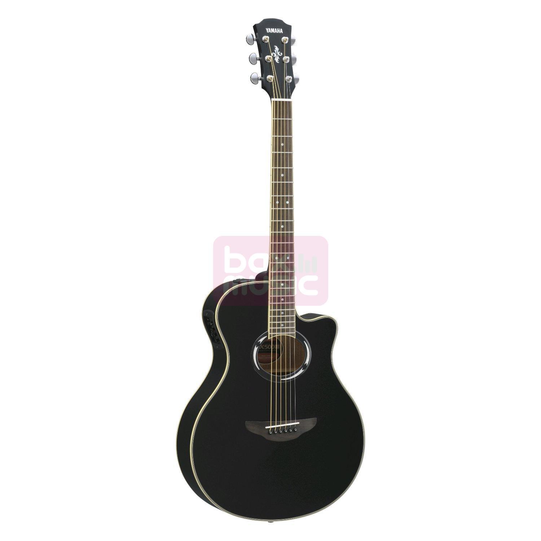 Yamaha APX500III Black elektrisch-akoestische western gitaar