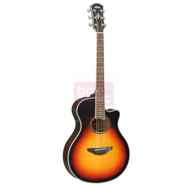 Yamaha APX700II VS elektrisch-akoestische westerngitaar Sunburst