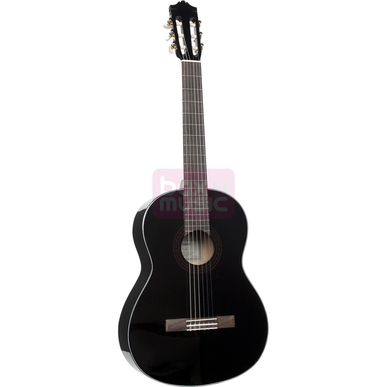 Yamaha C40BLII akoestische klassieke gitaar zwart