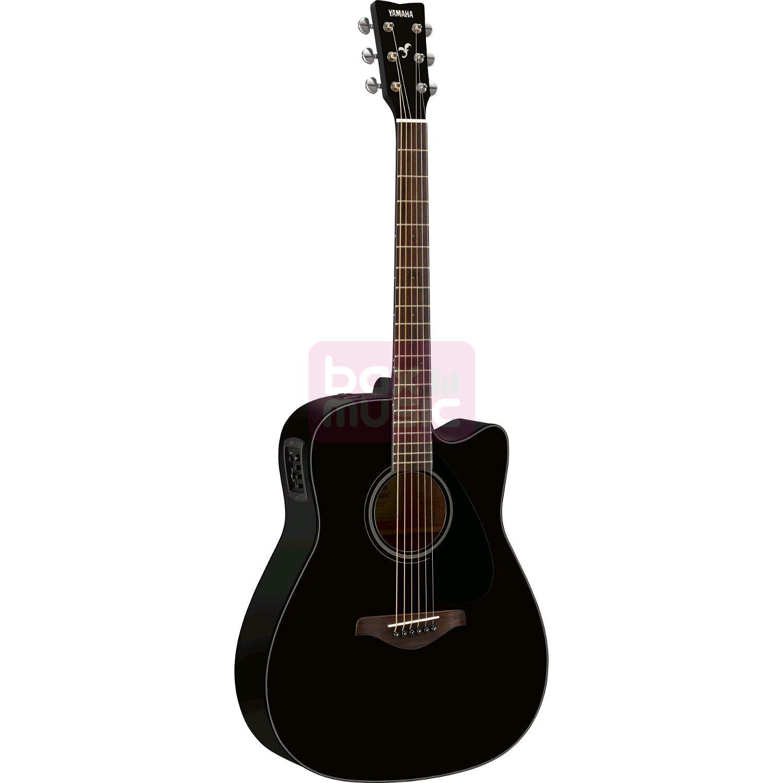 Yamaha FGX800C BL Black elektrisch-akoestische westerngitaar