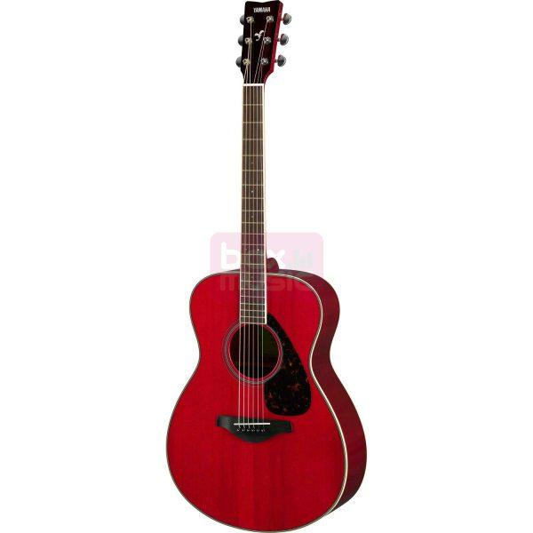 Yamaha FS820 RR Ruby Red westerngitaar