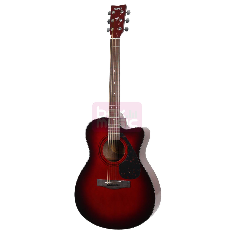 Yamaha FSX315C Dark Red Burst Limited Edition